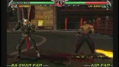 Mortal Kombat Hotaru Trading Card