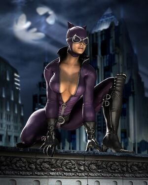 Catwoman render