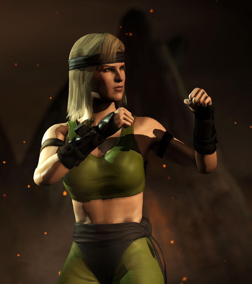 Sonya Blade Mkx Mortal Kombat Fandom