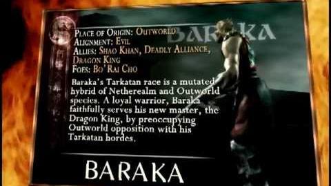 BARAKA TRADING CARD