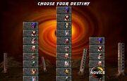 Choose your desitny