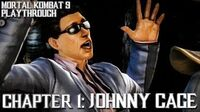 Mortal Kombat 9 (PS3) - Story Mode - Chapter 1 Johnny Cage Gameplay Playthrough