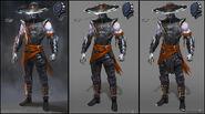 Mortal Kombat X MKX Concept Art MN Revenants 05