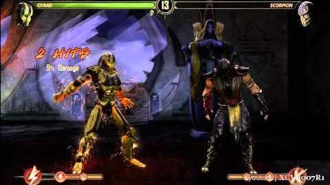 Mortal Kombat 9 (2011) - Scorpion Babality Costume 1