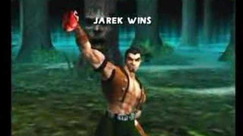 Mortal Kombat Jarek Trading Card