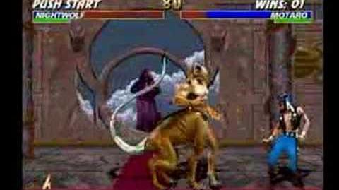 Mortal Kombat Motaro Trading Card