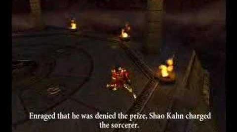 Mortal Kombat Armageddon Shang Tsung Ending