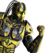 Versus Cyrax (MK9)