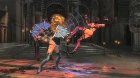 Mortal Kombat 9 Tag team fight HD video game trailer - PS3 X360