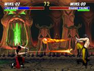 Mortal Kombat 3 Liu Kang & Shang Tsung