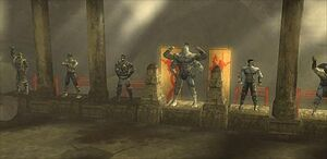 The Warrior Shrine em MKSM