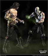 Liu Kng vs Quan Chi MK vs DC