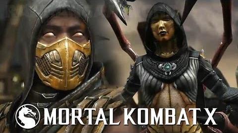 Mortal Kombat X - Scorpion vs D'Vorah Sub-Zero vs Ferra Torr PS4 Gameplay Demo E3 2014