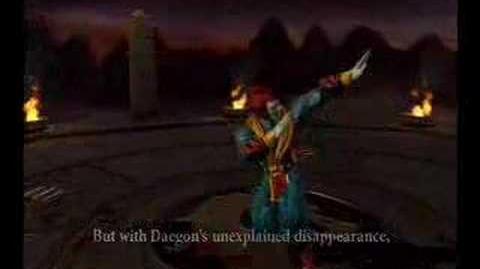 MK Armageddon Shinnok Ending