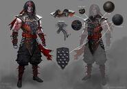 Mortal Kombat X MKX Concept Art MN Revenants 01