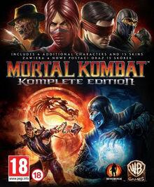 Mortal Kombat Komplete Edition Cover