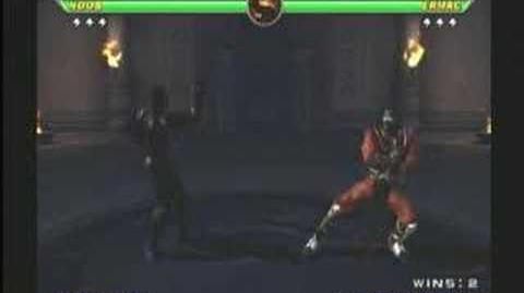 Mortal Kombat Armageddon Havik Trading Card
