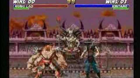 Mortal Kombat Kintaro Trading Card