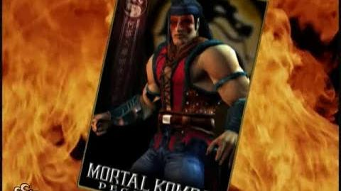 HQ Mortal Kombat Deception - Nightwolf Trading Card