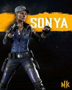 Sonya Blade Mk11
