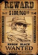 Wantedpostererronblack