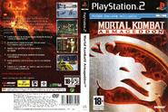 Mortal Kombat Armageddon Cover PS2