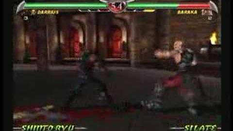 Mortal Kombat Darrius Trading Card
