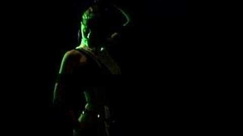 Mortal Kombat Sonya Blade Trading Card