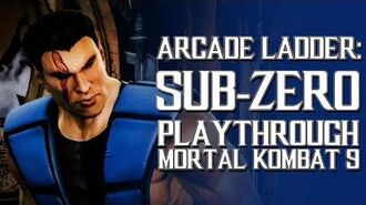 Mortal Kombat 9 (PS3) - Arcade Ladder Sub-Zero Playthrough Gameplay
