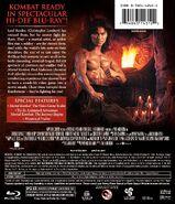 Mortal Kombat on Blu-Ray - Back
