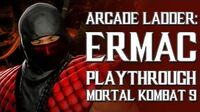 Mortal Kombat 9 (PS3) - Arcade Ladder Ermac Playthrough Gameplay