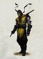 MK8 Scorpion Art