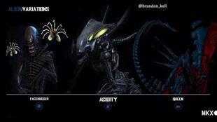 Alien variations