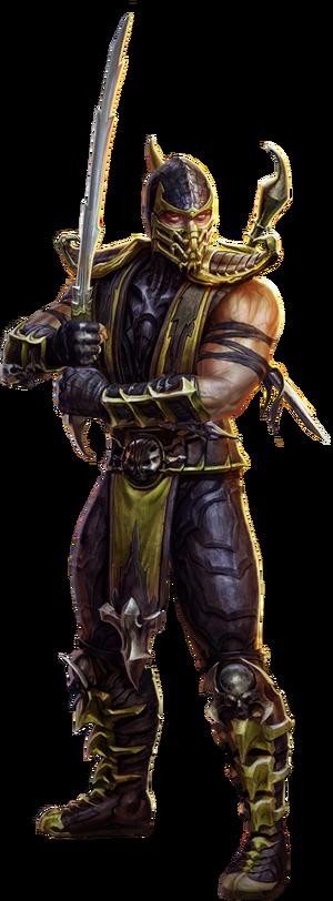 Scorpion render by wildboyz