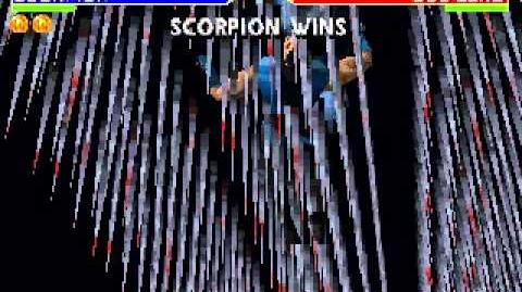Goro's Lair Stage Fatality Mortal Kombat 4