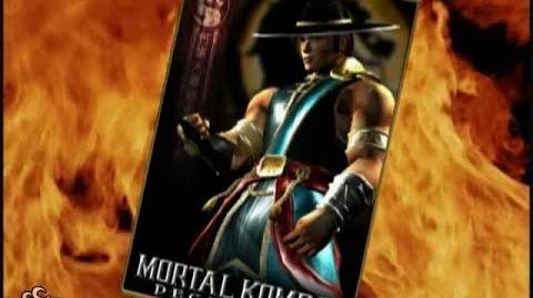 HQ Mortal Kombat Deception - Kung Lao Trading Card
