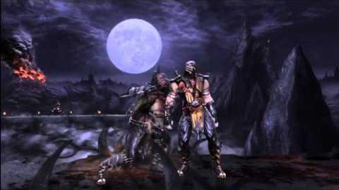MK9 - Scorpion 57% Damage X-RAY Combo - Mortal Kombat 9 (2011) MK Demo Gameplay