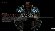 MKX FerraTorr Lackey