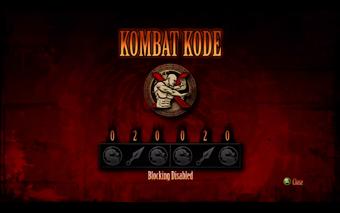 Mortal Kombat 2011 Kombat Kodes Mortal Kombat Fandom