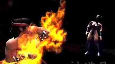 Combo Fuego/Patada