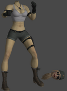Sonya Blade (modo sem cabeça)
