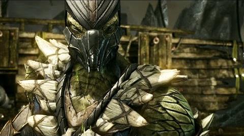 Mortal Kombat X Reptile Revealed