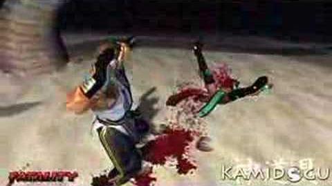 "Mortal Kombat Deception Kobra's ""Hearty Meal"" Fatality"