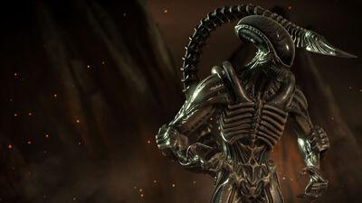 Mkx Alien render