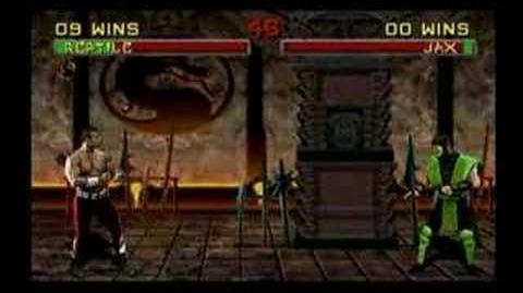 Mortal Kombat Reptile Trading Card