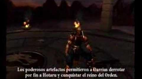 Final de Darrius en MK Armageddon mortal-kombat