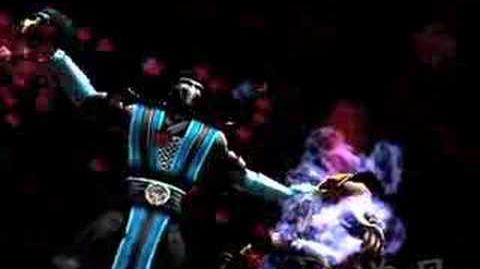 Mortal Kombat Shaolin Monks Sub-Zero's Spine Rip