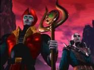 Quan Chi y Shinnok