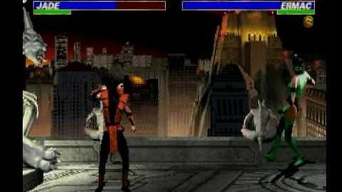 Mortal Kombat Ermac Trading Card