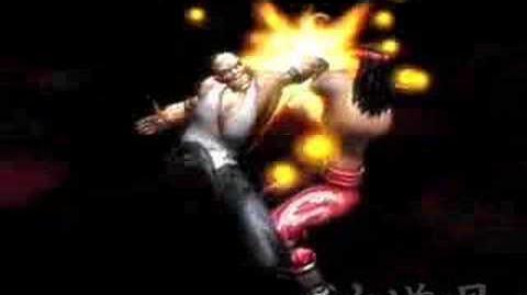 Mortal Kombat Shaolin Monks Liu Kang's Fatality Bone-Breaker Combo